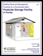Building Plans and Management Practices for a Permanent-site Pesticide Storage Facility in Florida