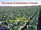 The Value of Pesticides in Agricultural Crops in Florida