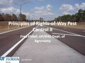 Principle of Rights of Way Pest Control II