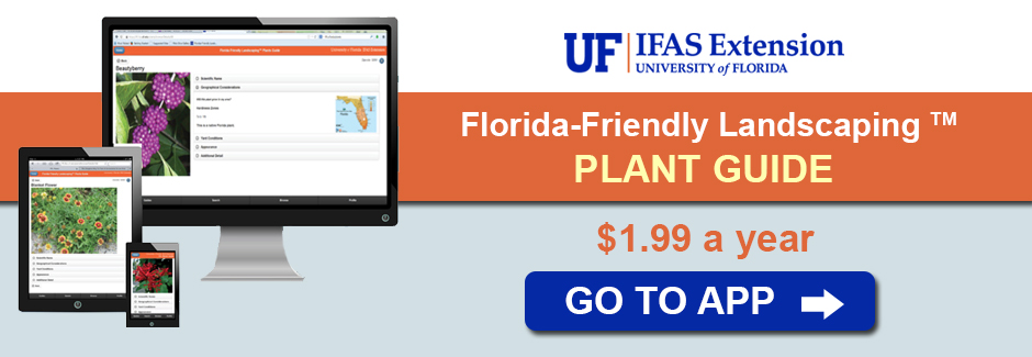 Florida-Friendly Landscaping Plant GUide App